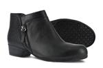 Women's EH SR Black Alloy Toe Slip-On Shoes
