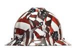 MSA V-Gard Hydro Dip Slotted Full Brim Hard Hat