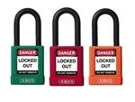 Plastic Coated Non-Conductive Padlock with 1-1/2
