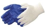 Blue Latex Palm Coated Glove