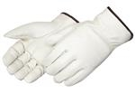 Economy Grain Cowhide Driver Gloves With Straight Thumb