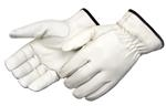 Grain Cowhide Driving Gloves With Keystone Thumb