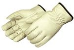 Grain Pigskin Driving Gloves With Straight Thumb