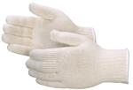Heavy Weight White Cotton Blend String Knit Gloves