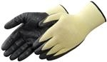 100% Kevlar® Ultra Thin Black Palm Nitrile-Coated Gloves