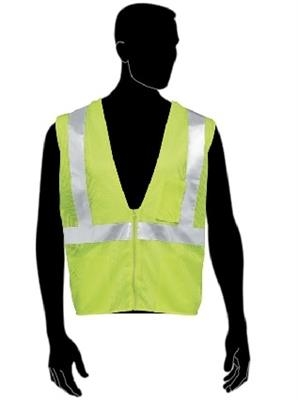 Liberty Glove And Safety Class 2 High Visibility Mesh Vest