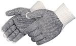 Liberty Two-Sided Natural White PVC Dotted Glove