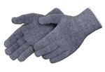 Medium Weight Cotton Blend Reversible String Knit Gloves