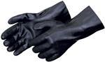 Sandpaper Finish Black PVC Glove