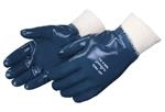 Nitrile Palm Coat and Knit Wrist Gloves