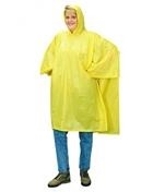 Liberty DuraWear™ Yellow Protective Poncho w/Attached Hood