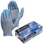 DuraSkin™ Blue Vinyl Gloves