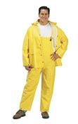 Liberty DuraWear™ PVC/Polyester 2-Piece Yellow Rainsuit