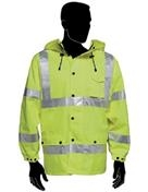 HIVIZARD™  Lime Green Waterproof Windbreaker