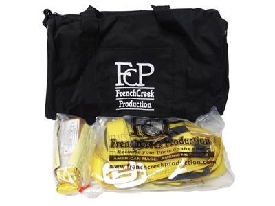 French Creek Construction Kit: 631 Harness, 490A Lanyard, and Carrying Bag