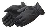 Black Premium Grain Deerskin Driver Glove With Keystone Thumb