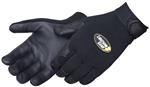 BlacKnight™ Premium Black Deerskin Mechanics Gloves