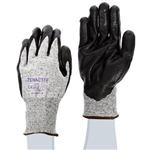 Fiberglass Nitrile-Coated Gloves
