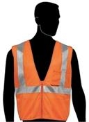 Liberty Glove and Safety Class 2 Orange Safety Vest