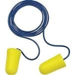 3M Large Tapered Ear Plugs With Cord, NRR of 32dB