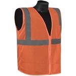 Liberty Glove And Safety Class 2 - FR Orange Safety Vest