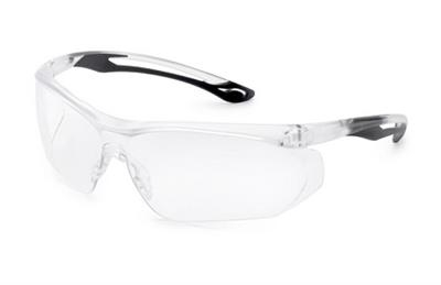 Parallax™ Black Flex Clear Safety Glasses
