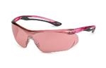 Parallax™ Gray Flex Pink Safety Glasses