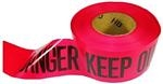 Red Danger Barricade Tape