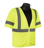 Liberty Glove And Safety Class 3 Mesh Vest With Sleeves