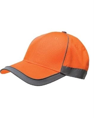 Bayside American Made Class 2 Hi-Viz Constructed Safety Cap