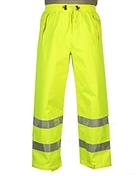 "Hivizgard™ mesh pants ANSI 107-2010 Class E with 2"" wide silver retroreflective stripes"