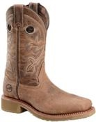 Double H Ladies 11 inch Roper Wide Square Comp Toe EH Boots