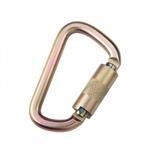 3M™ DBI-SALA® Saflok™ Carabiner, Yellow Zinc