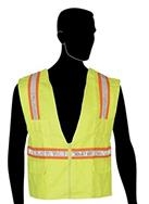 Liberty Glove and Safety Surveyor Vest Lime Green