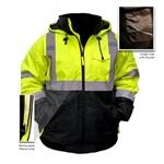 High Visibility ANSI Class 3 Bomber Jacket