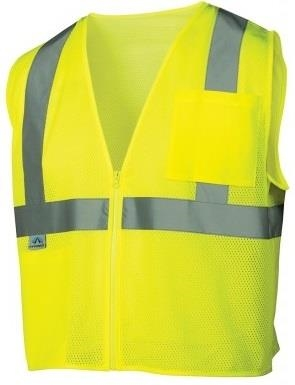 Pyramex High Visibility Class 2 Mesh Vest
