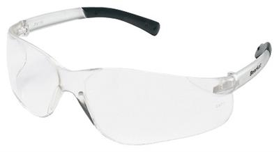 MCR Safety BearKat Clear Lens Safety Glasses