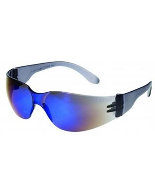 Liberty Glove And Safety iNOX Blue Mirror Lens Safety Glasses