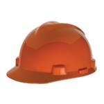 MSA V-Gard With Staz-On Suspension Hard Hat