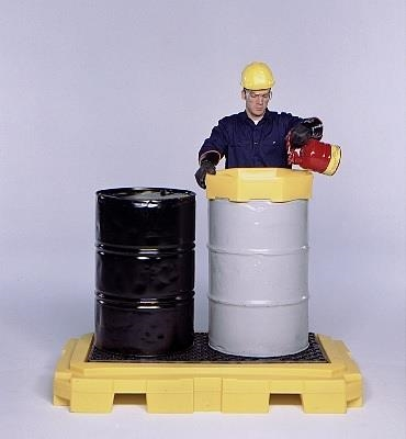 P2 Plus Spill Pallet With Drain