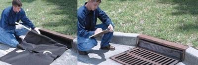 Curb Insert Oil & Sediment Drain Guard