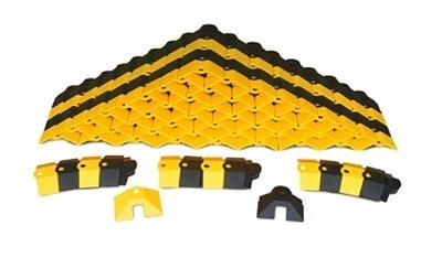 Small Black and Yellow Sidewinder System With Endcaps