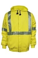 National Safety Apparel Class 3 FR Hi Visibility Zip Up Hoodie