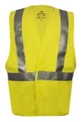 National Safety Apparel Class 2 FR Hi Visibility Contractor Safety Vest