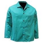 Chicago Protective Apparel 30in 9oz FR Green Cotton Jacket