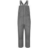 Bulwark® Excel FR ComforTouch Deluxe Insulated Gray Bib Overall