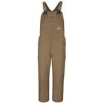 Bulwark® Brown Duck Unlined Bib Overall