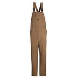 Bulwark® Excel FR ComforTouch Brown Duck Unlined Bib Overall