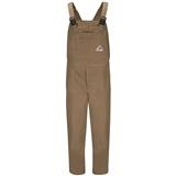 Bulwark® Brown Duck Insulated Bib Overall