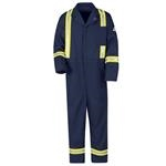 Bulwark® Excel FR Classic Coverall with Reflective Trim